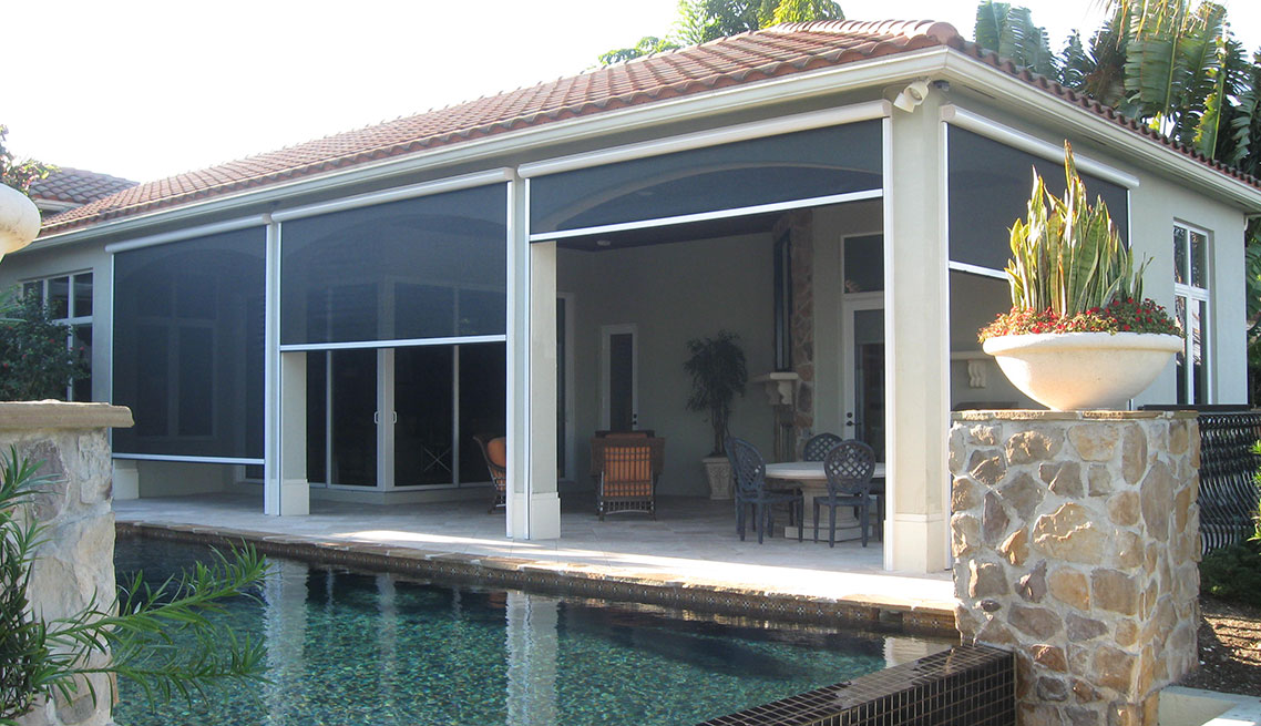 Charming ClearView Retractable Screens